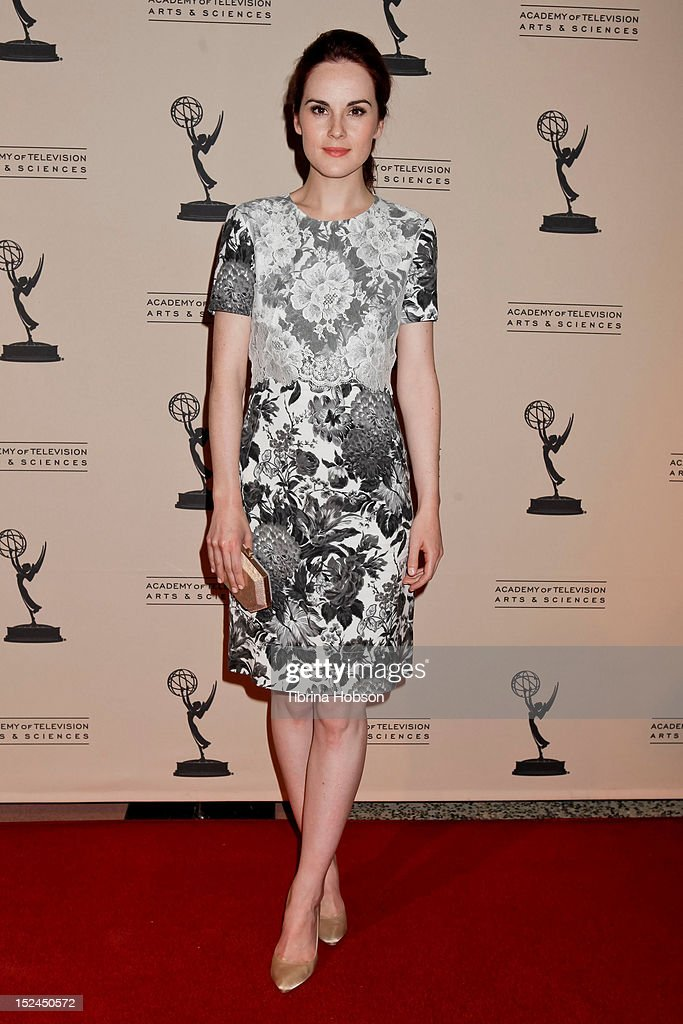 Michelle Dockery attends the 64th primetime Emmy Awards writers' nominee reception at Academy of Television Arts & Sciences on September 20, 2012 in North Hollywood, California.