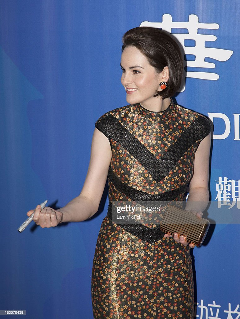 Michelle Dockery attends the Annual Huading Image Awards At The Venetian In Macau on October 7, 2013 in Macau, Macau.