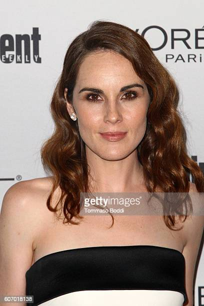 Michelle Dockery attends the Entertainment Weekly's 2016 PreEmmy Party held at Nightingale Plaza on September 16 2016 in Los Angeles California