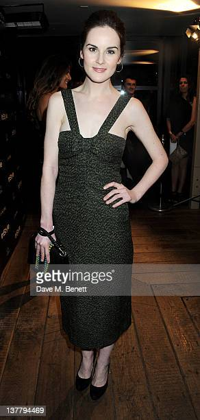 Michelle Dockery attends the InStyle Best of British Talent party in association with Lancome and Charles Worthington at Shoreditch House on January...