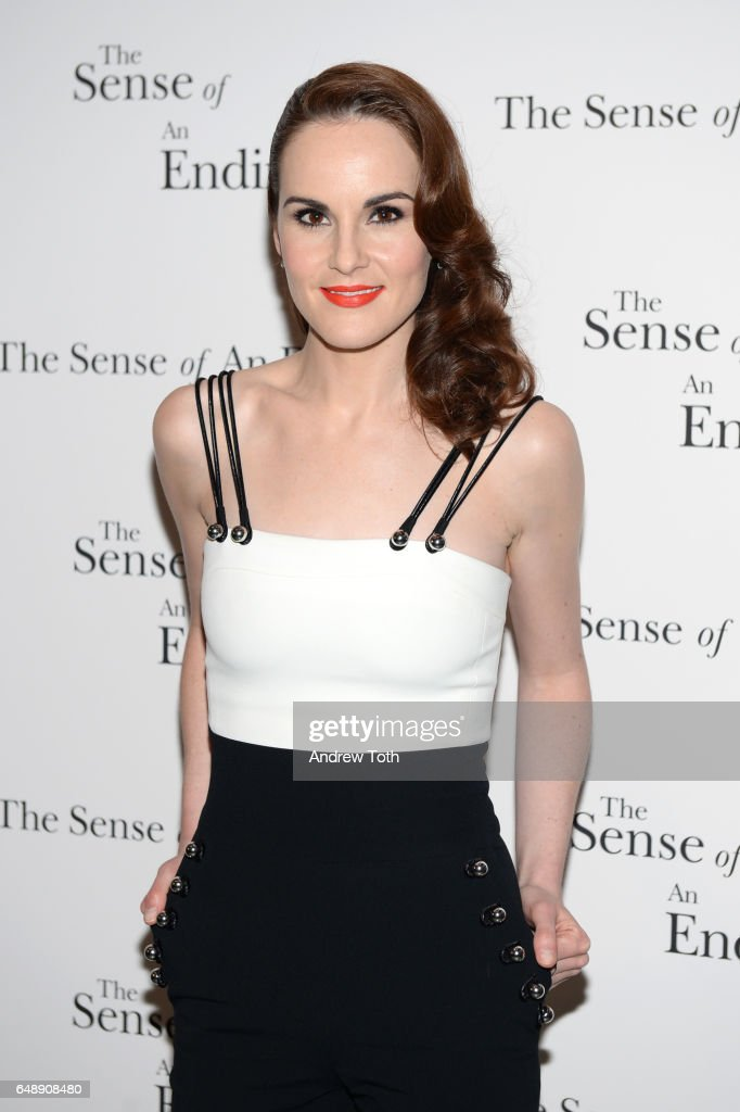 Michelle Dockery attends 'The Sense Of An Ending' New York screening at The Museum of Modern Art on March 6, 2017 in New York City.