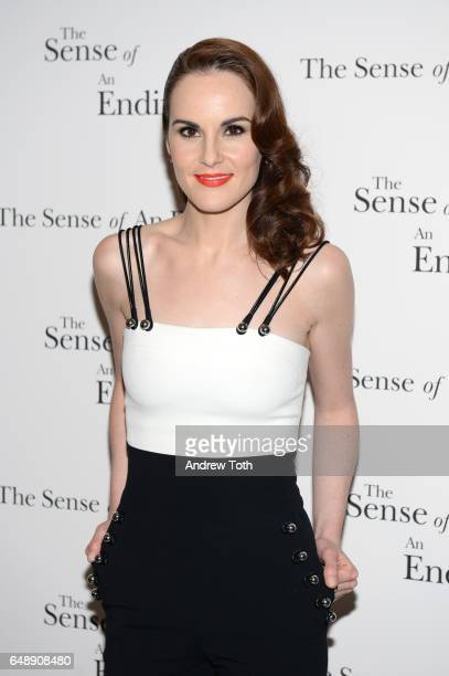 Michelle Dockery attends 'The Sense Of An Ending' New York screening at The Museum of Modern Art on March 6 2017 in New York City