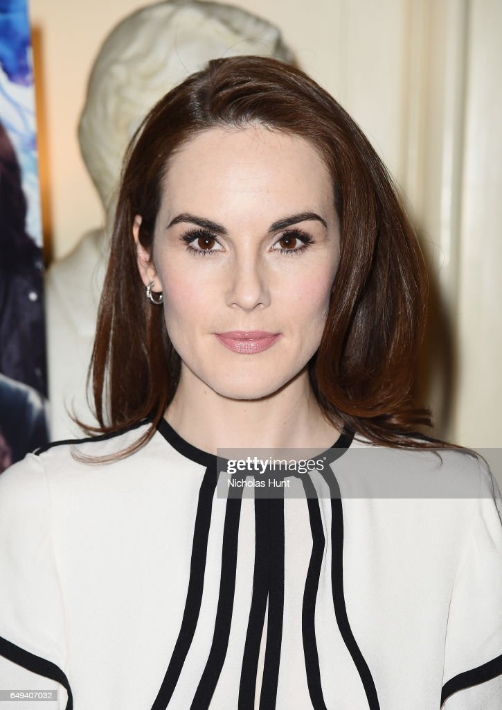 Michelle Dockery attends the 'The Sense of an Ending' Lunch & Q and A at The Lotus Club on March 7, 2017 in New York City.