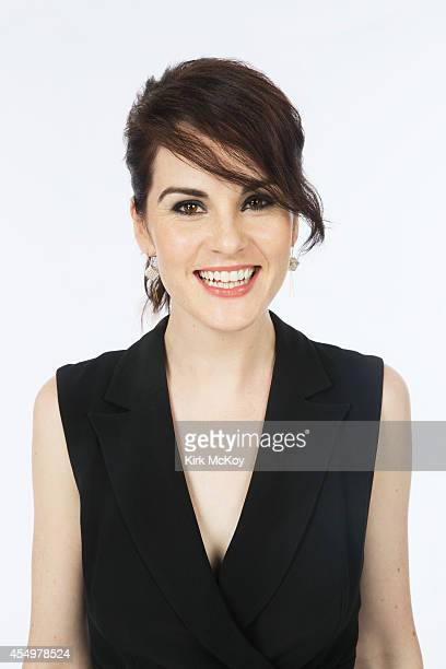 Michelle Dockery is photographed for Los Angeles Times on August 25 2014 in Los Angeles California PUBLISHED IMAGE CREDIT MUST BE Kirk McKoy/Los...