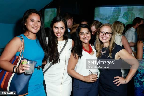 Michelle Dolojan Estefania Blanco Shikha Sharma and Lauren Roth attend the Medshare's 6th Annual YP Global Health Benefit on June 21 2017 in New York...