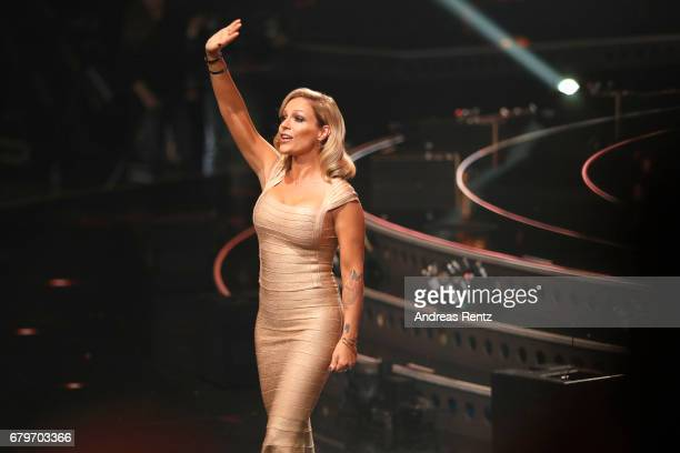 Michelle during the finals of the tv competition 'Deutschland sucht den Superstar' at Coloneum on May 6 2017 in Cologne Germany