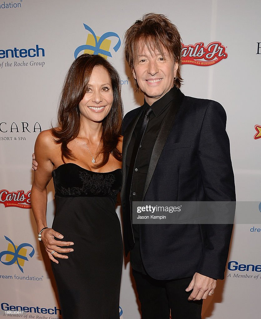 Michelle Ebbin and <a gi-track='captionPersonalityLinkClicked' href=/galleries/search?phrase=Richie+Sambora&family=editorial&specificpeople=204195 ng-click='$event.stopPropagation()'>Richie Sambora</a> attend the 12th Annual Celebration Of Dreams Gala at Bacara Resort And Spa on October 26, 2013 in Santa Barbara, California.
