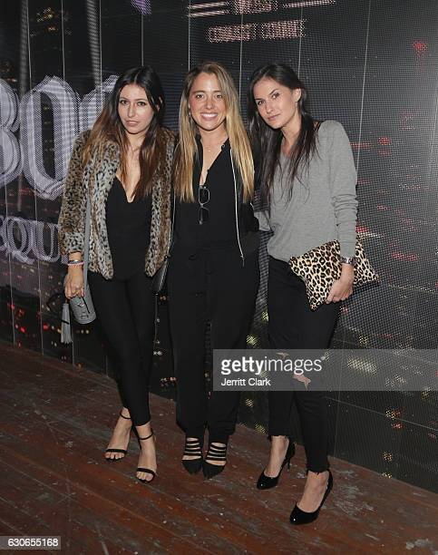 Michelle Edgar of Music Unites and guests attend Slim Jxmmi Of Rae Sremmurd 25th Birthday Bash at Think Tank Gallery on December 28 2016 in Los...