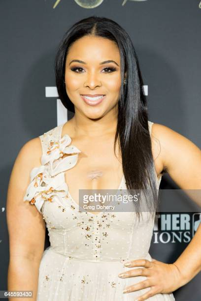 Michelle Epps attends Floyd Mayweather's 40th Birthday Celebration on February 25 2017 in Los Angeles California