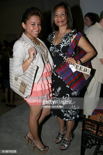 Michelle Francis and Maria Francis attend LORD TAYLOR Mother/Daughter Tea for FEED with LAUREN BUSH and ELLEN GUSTAFSON at Lord Taylor on May 7 2010...