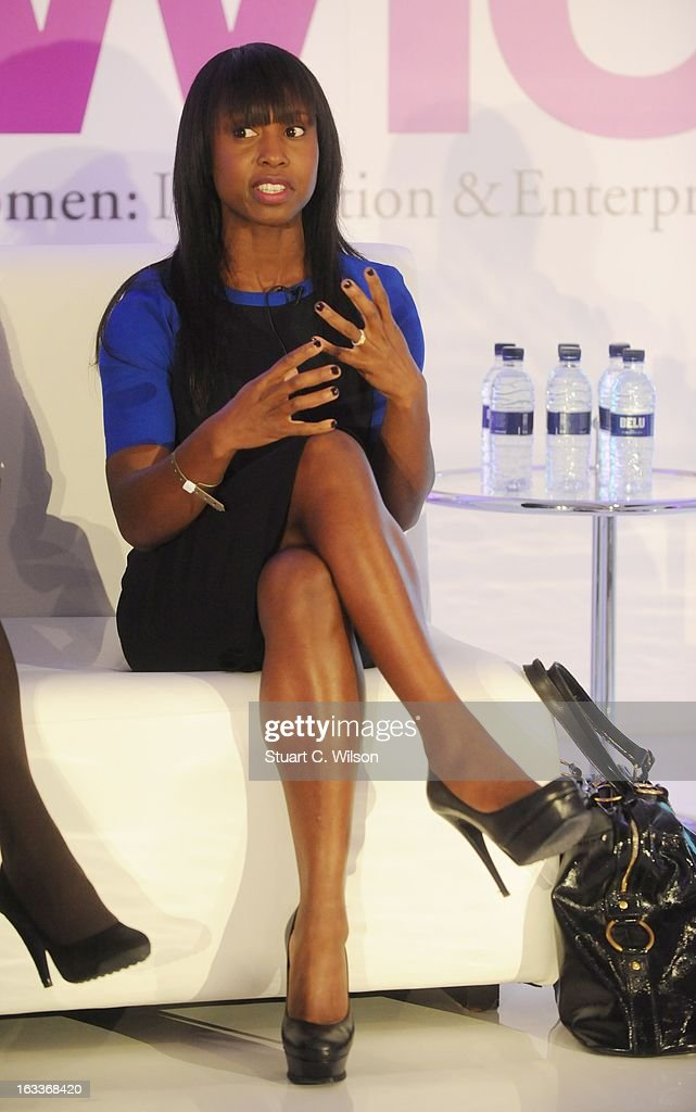 <a gi-track='captionPersonalityLinkClicked' href=/galleries/search?phrase=Michelle+Gayle&family=editorial&specificpeople=626198 ng-click='$event.stopPropagation()'>Michelle Gayle</a> attends the annual WIE Symposium at The Hospital Club on March 8, 2013 in London, England.