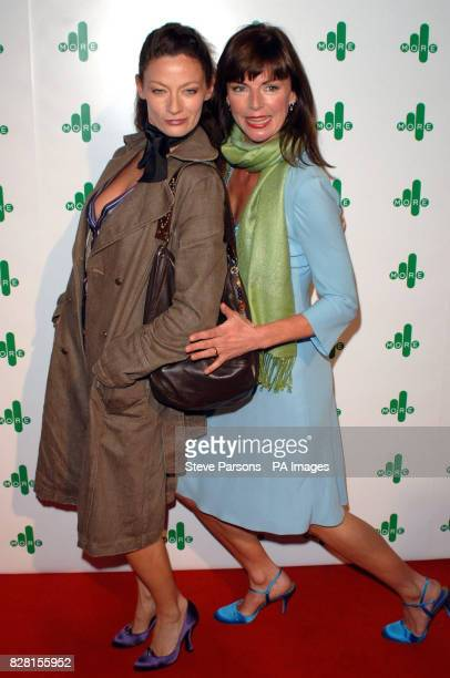 Michelle Gomez and Doon MacKichan arrive for the More4 launch party at the Shunt Vaults in central London Thursday 6 October 2005 PRESS ASSOCIATION...