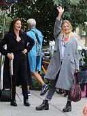 Celebrity Sightings In New York City - September 25,...