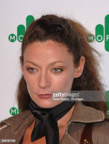 Michelle Gomez arrives for the More4 launch party at the Shunt Vaults