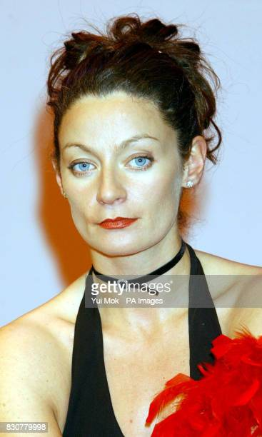 Michelle Gomez during a photocall for a cast change of 'The Vagina Monologues' at the Arts Theatre in London