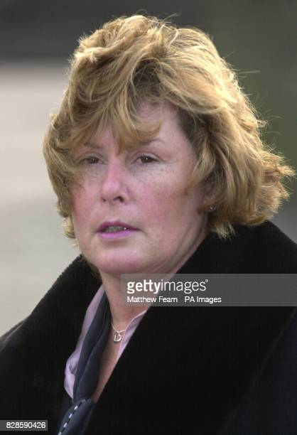 Michelle Griffin mother of Erin Griffin outside Maidstone Crown Court before giving evidence during a prosecution case by the Health and Safety...