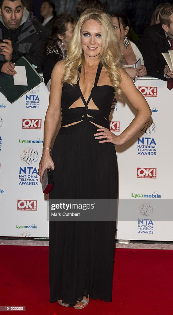 Michelle Hardwick attends the National Television Awards at 02 Arena on January 22, 2014 in London, England.