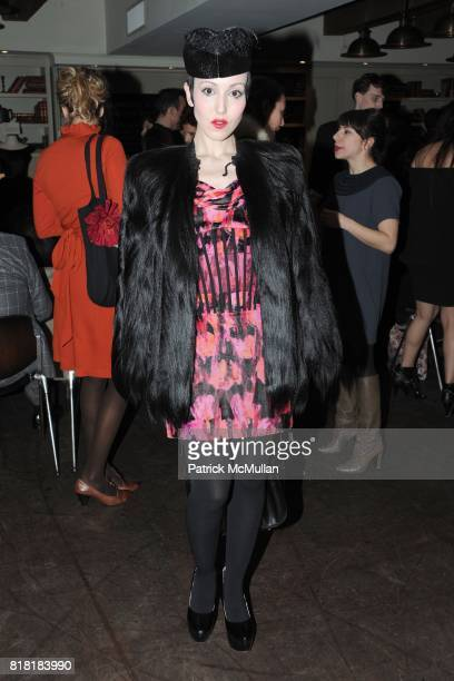 Michelle Harper attends 'Forgotten Fashion' book party honoring the release of Let's Bring Back by Lesley MM Blume at Library on November 16 2010 in...