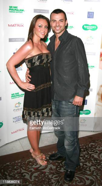 Michelle Heaton and Andy Scott Lee during Specsavers Spectacle Wearer Of The Year 2006 Grand Final at Waldorf Hilton Hotel in London United Kingdom