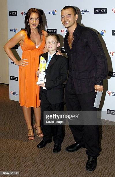 Michelle Heaton and Connor Coffey and Andy Scott Lee