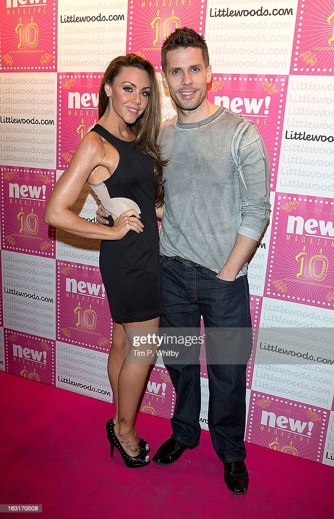 <a gi-track='captionPersonalityLinkClicked' href=/galleries/search?phrase=Michelle+Heaton&family=editorial&specificpeople=202177 ng-click='$event.stopPropagation()'>Michelle Heaton</a> and Hugh Hanley attend New Magazine Celebrates 10 years in print at Gilgamesh on March 5, 2013 in London, England.
