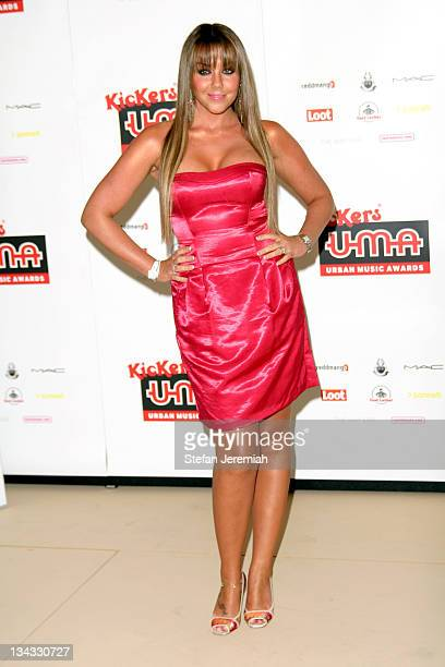Michelle Heaton arrives at the Kickers Urban Music Awards 2007 at the New Connaught Rooms on November 3 2007 in London England