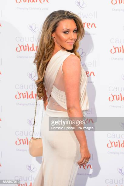 Michelle Heaton arriving at the Caudwell Children Butterfly Ball at the Grosvenor House hotel in central London