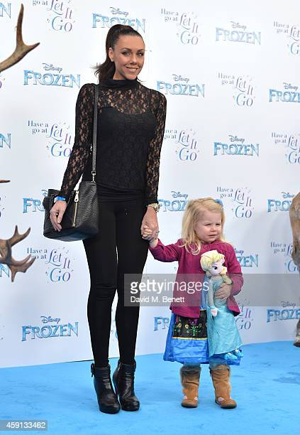 Michelle Heaton attends a celebrity singalong from 'Frozen' at Royal Albert Hall on November 17 2014 in London England