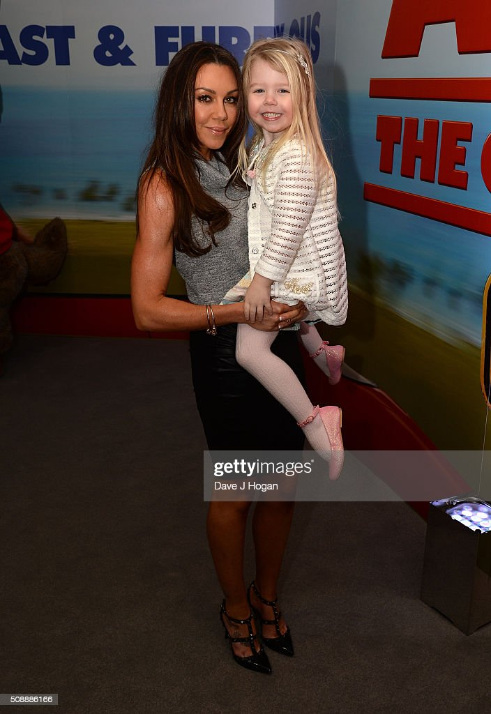 <a gi-track='captionPersonalityLinkClicked' href=/galleries/search?phrase=Michelle+Heaton&family=editorial&specificpeople=202177 ng-click='$event.stopPropagation()'>Michelle Heaton</a> (L) attends a gala screening of 'Alvin & The Chipmunks: The Roadtrip' at Vue West End on February 7, 2016 in London, England.