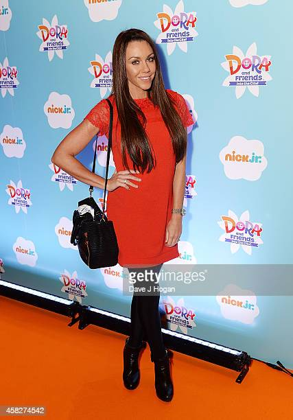 Michelle Heaton attends Dora and Friends Into the City UK Premiere at The Empire Cinema on November 2 2014 in London England