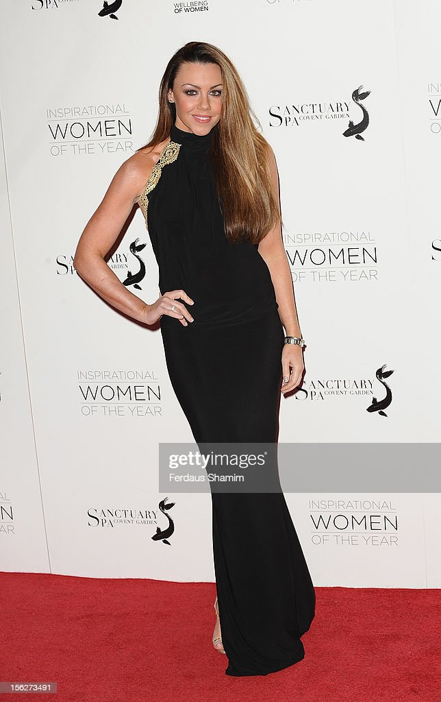 Michelle Heaton attends The Daily Mail Inspirational Women of the Year Awards sponsored by Sanctuary Spa and in aid of Wellbeing of Women at Marriott Hotel Grosvenor Square on November 12, 2012 in London, England.