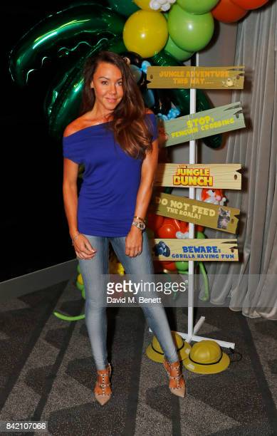 Michelle Heaton attends the gala screening of 'The Jungle Bunch' at Vue Leicester Square on September 3 2017 in London England