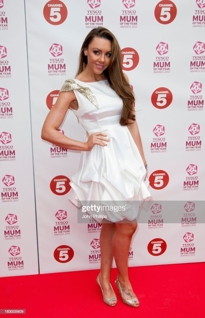 <a gi-track='captionPersonalityLinkClicked' href=/galleries/search?phrase=Michelle+Heaton&family=editorial&specificpeople=202177 ng-click='$event.stopPropagation()'>Michelle Heaton</a> attends the Tesco Mum of the Year awards at The Savoy Hotel on March 3, 2013 in London, England.