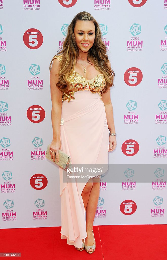 Michelle Heaton attends the Tesco Mum of the Year awards at The Savoy Hotel on March 23, 2014 in London, England.