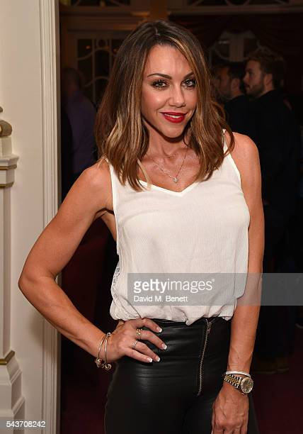 Michelle Heaton attends the world premiere concert performance of 'Eugenius' at The London Palladium on June 29 2016 in London England