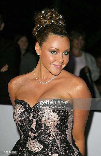 Michelle Heaton during 2007 British Academy Television Awards Reception and Party – Red Carpet Arrivals at Natural History Museum in London United...