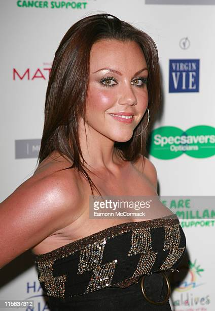 Michelle Heaton during Specsavers Spectacle Wearer Of The Year 2006 Grand Final at Waldorf Hilton Hotel in London United Kingdom
