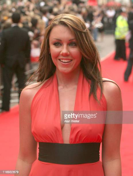 Michelle Heaton during 'The Lake House' London Premiere Outside Arrivals at Vue West End in London Great Britain