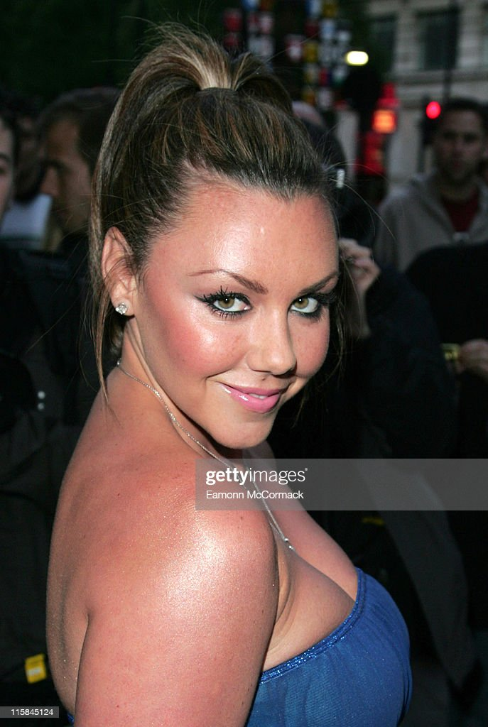 Michelle Heaton during The Perfume Shop/LK High Street Fashion Awards - Outside Arrivals at Cafe de Paris in London, Great Britain.