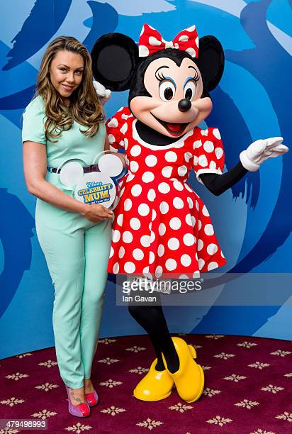 Michelle Heaton is revealed as Disney's Celebrity Mum of the Year 2014 at 4 Hamilton Place on March 19 2014 in London England