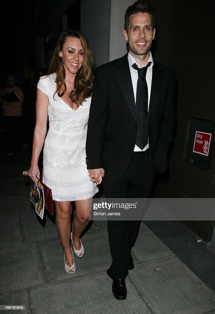 Michelle Heaton sighting on April 16, 2013 in London, England.