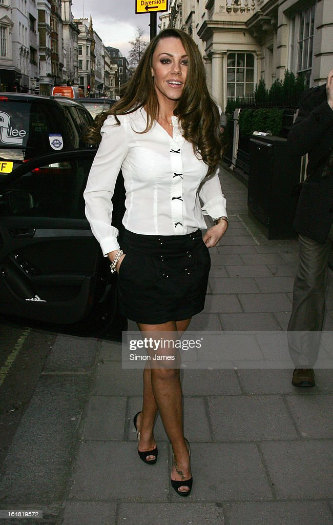 Michelle Heaton sighting on March 28, 2013 in London, England.