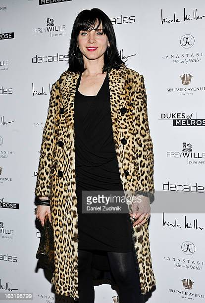 Michelle Hicks attends the 'Dukes Of Melrose' Premiere at 583 Park Avenue on March 5 2013 in New York City