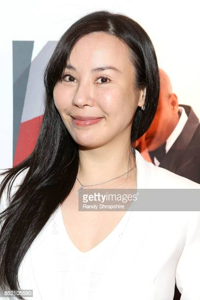 Michelle Hsiao attends 'Unstoppable' Tariku Bogale book launch on September 22 2017 in West Hollywood California