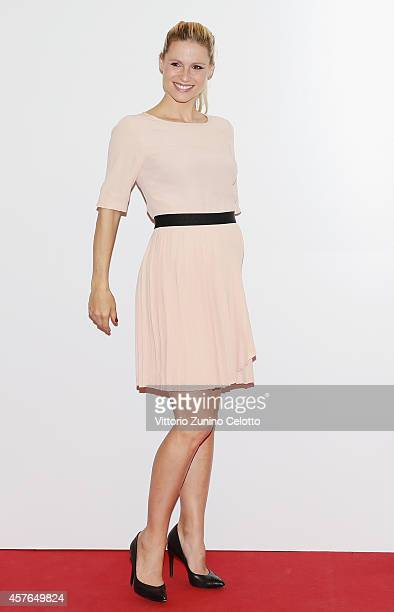Michelle Hunziker attends the 'Doppia Difesa' Photocall during the 9th Rome Film Festival on October 22 2014 in Rome Italy