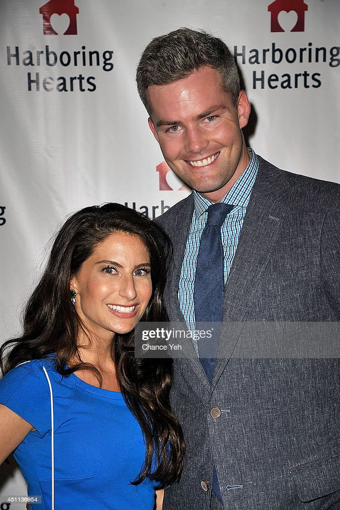 Michelle Javian and Ryan Serhant attend Harboring Hearts' 2nd annual Summer Soiree at Rubin Museum of Art on June 23 2014 in New York City