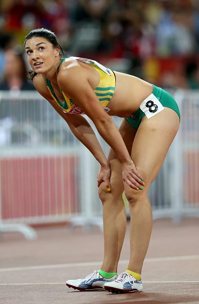 Michelle Jenneke nude