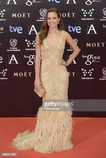 Michelle Jenner attends Goya Cinema Awards 2014 at Centro de Congresos Principe Felipe on February 9 2014 in Madrid Spain