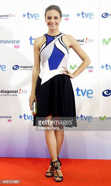 Michelle Jenner attends 'Isabel' end of season 2 premiere photocall at Capitol theatre on December 2 2013 in Madrid Spain