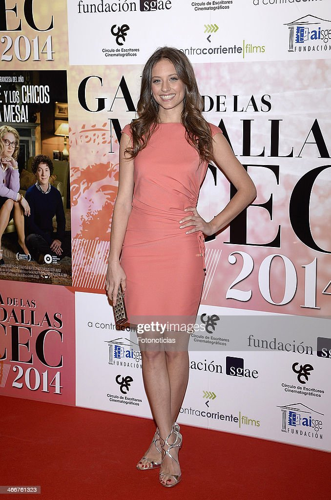 Michelle Jenner attends the 'CEC' medals 2014 ceremony at the Palafox cinema on February 3, 2014 in Madrid, Spain.
